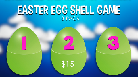 Easter Egg Shell Game 3-Pack