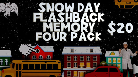 Snow Day Flashback Memory 4-Pack