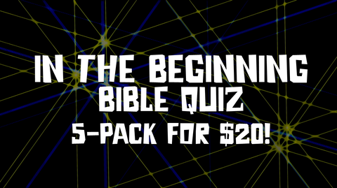 In the Beginning Bible Quiz 5-Pack