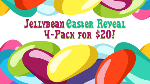 Jellybean Easter Reveal 4-Pack
