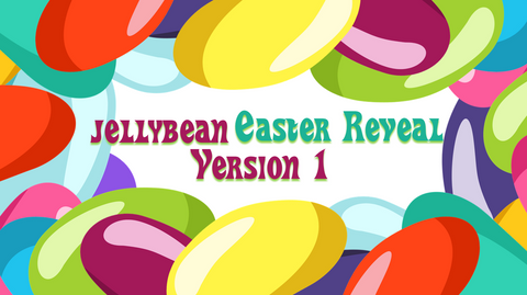 Jellybean Easter Reveal - Palm Sunday