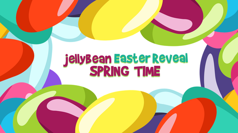 Jellybean Easter Reveal - Spring Time
