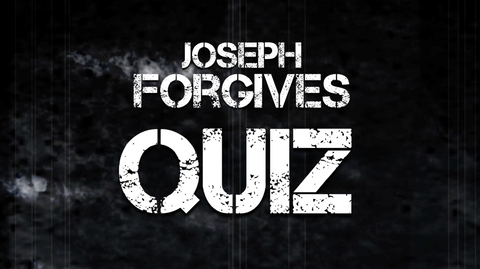 Joseph Forgives - Bible Quiz
