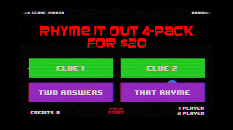 Rhyme it Out 4-Pack