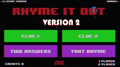 Rhyme it Out - Version 2
