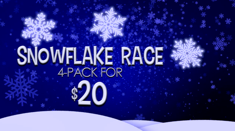 Snowflake Race 4-Pack