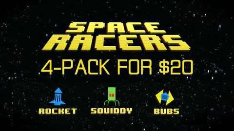 Space Racers 4-Pack
