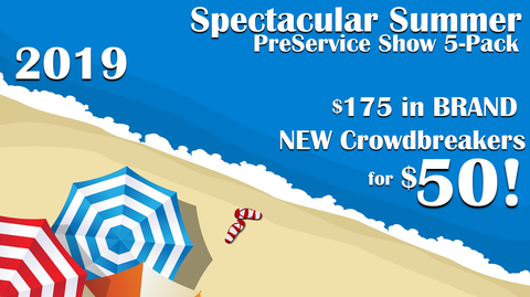 2019 - Spectacular Summer PreService Show 5-Pack