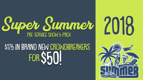 2018 - Super Summer PreService Show 5-Pack