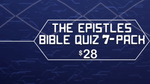 The Epistles Bible Quiz 7-Pack