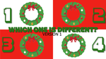 Which One is Different, Christmas Edition - Version 1