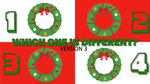 Which One is Different, Christmas Edition - Version 3
