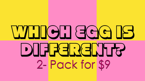Which Egg is Different 2-Pack