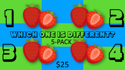 Which One is Different Summer Edition 5-Pack