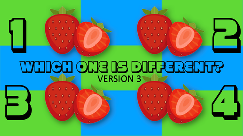 Which One is Different, Summer - Version 3