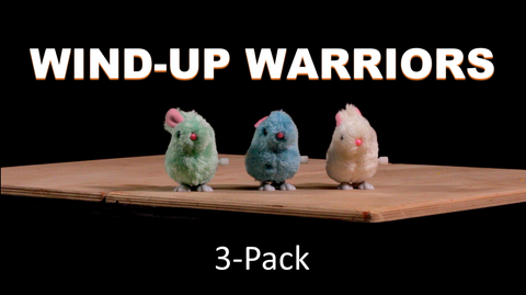 Wind-Up Warriors 3-Pack