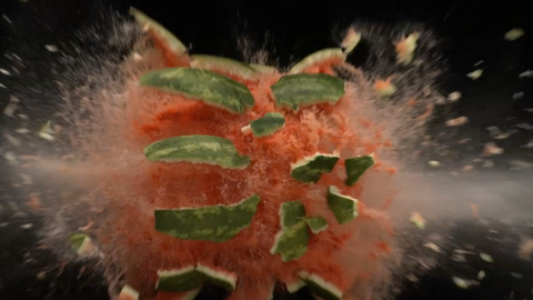 Exploding Fruit - Version 1