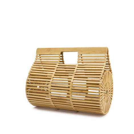 Bamboo Top Handle Bag