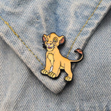 Lion King Collar Pins