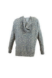Cheetah Hooded Top
