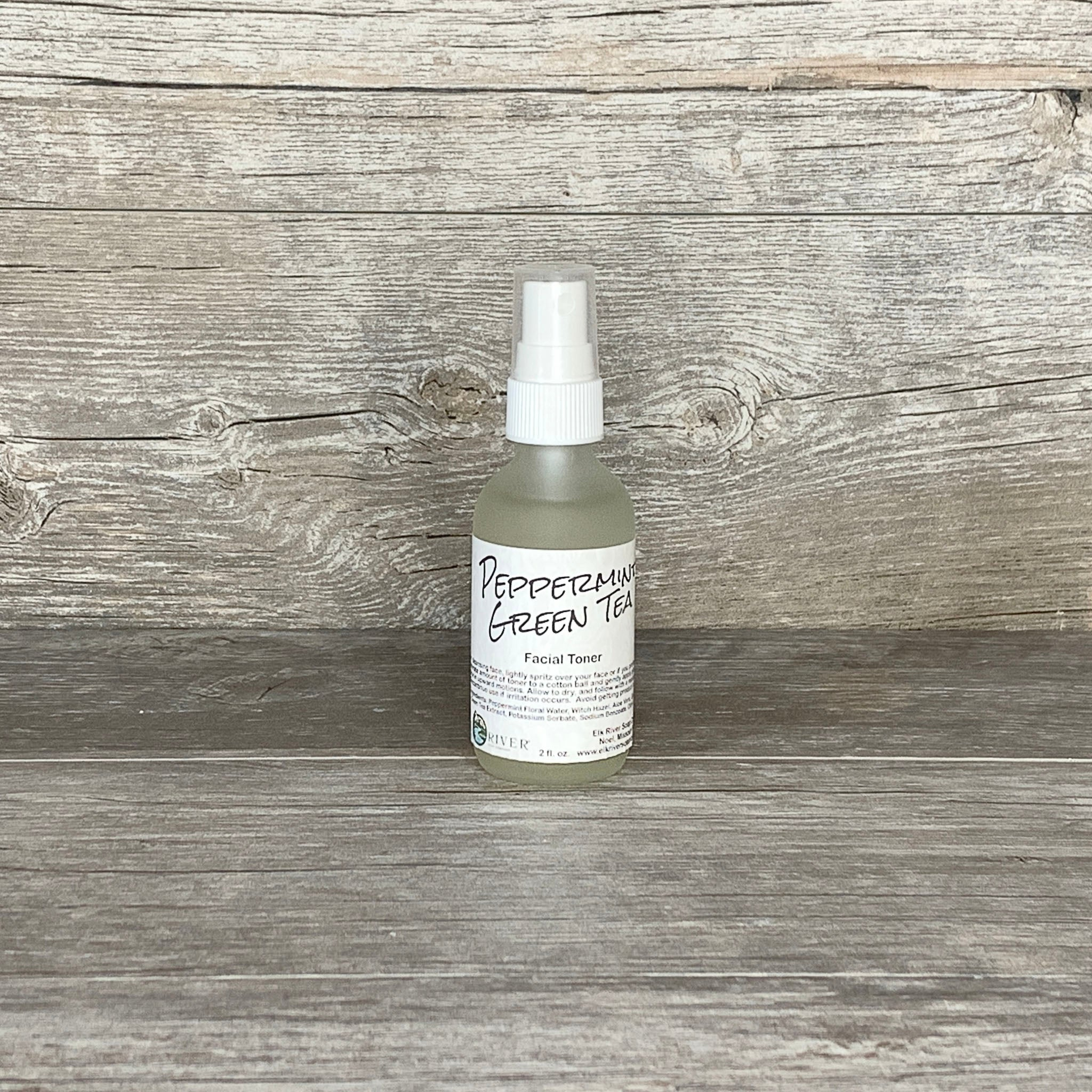 Peppermint Green Tea Facial Toner