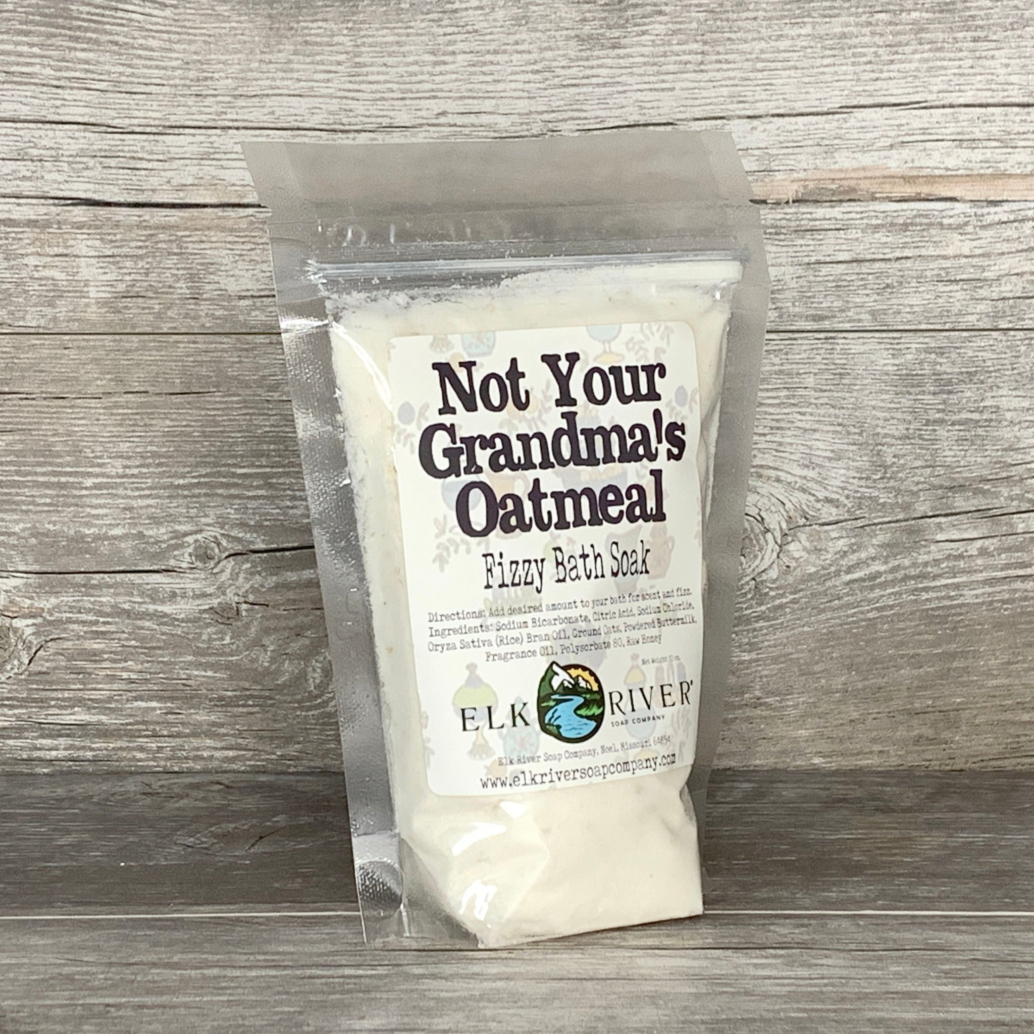 Not Your Grandmas Oatmeal Fizzy Bath Soak