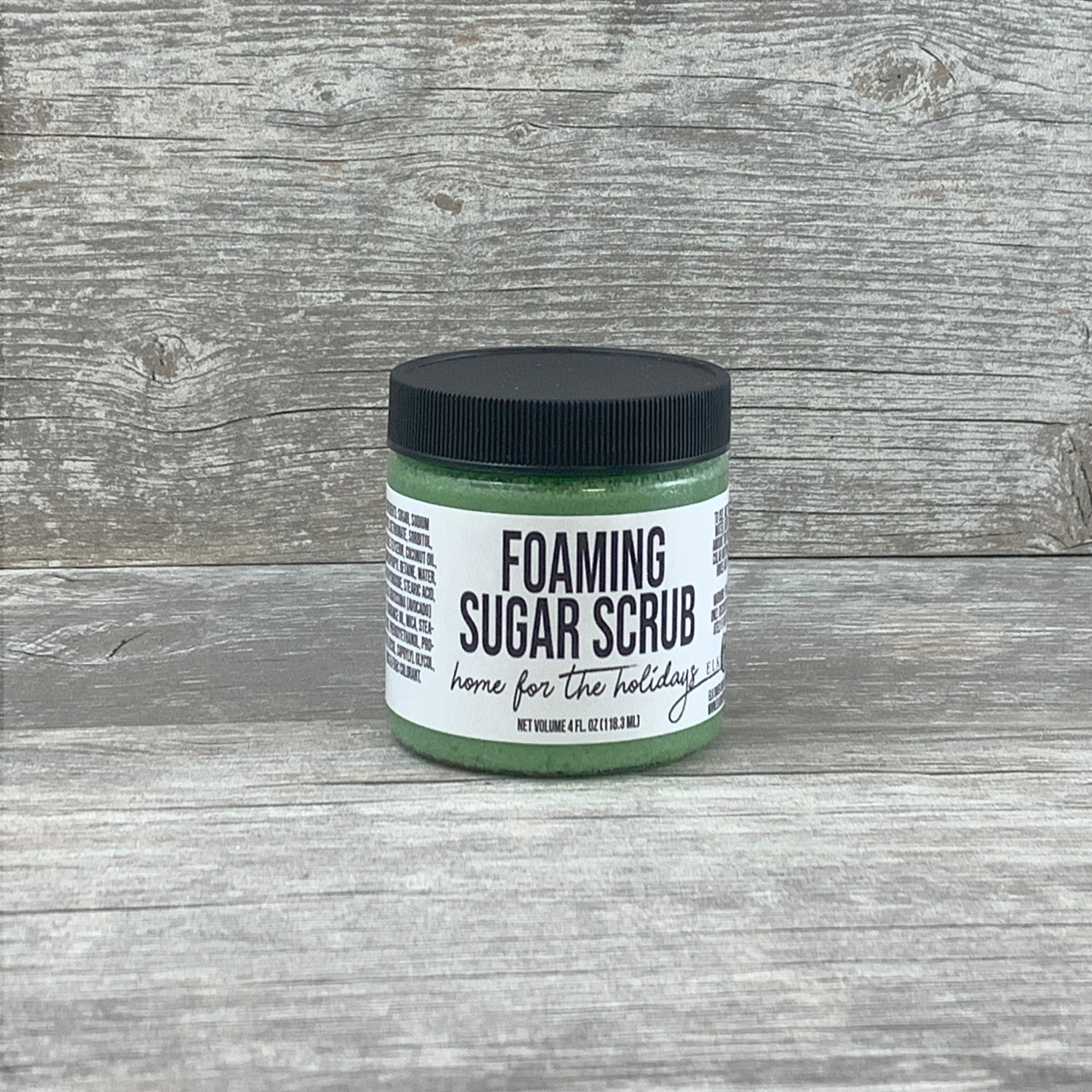 Home For The Holidays Foaming Sugar Scrub