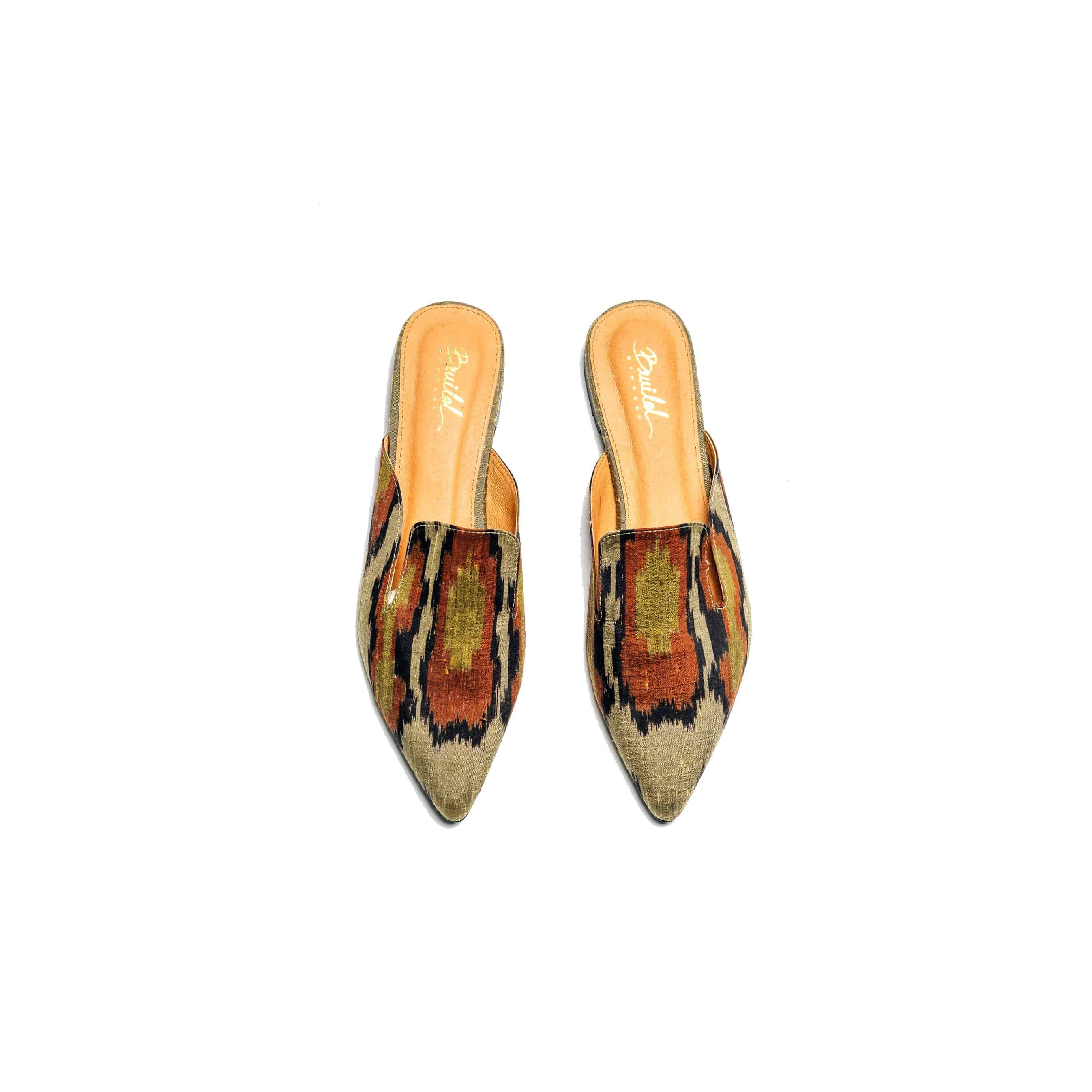 Wild in the city Mule Slippers - Orange Dream - BWILD byHeart