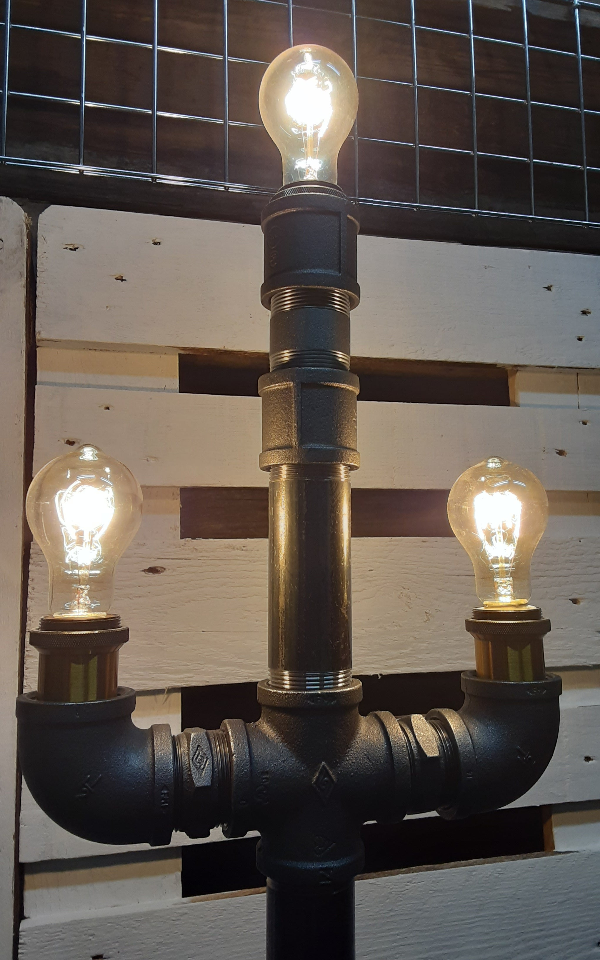 Industrial floor standing lamp (only 1 made)