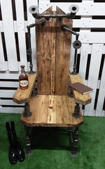 Industrial style Throne, (only 1 made)