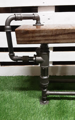 Industrial style heavy duty bench (only 1 made)