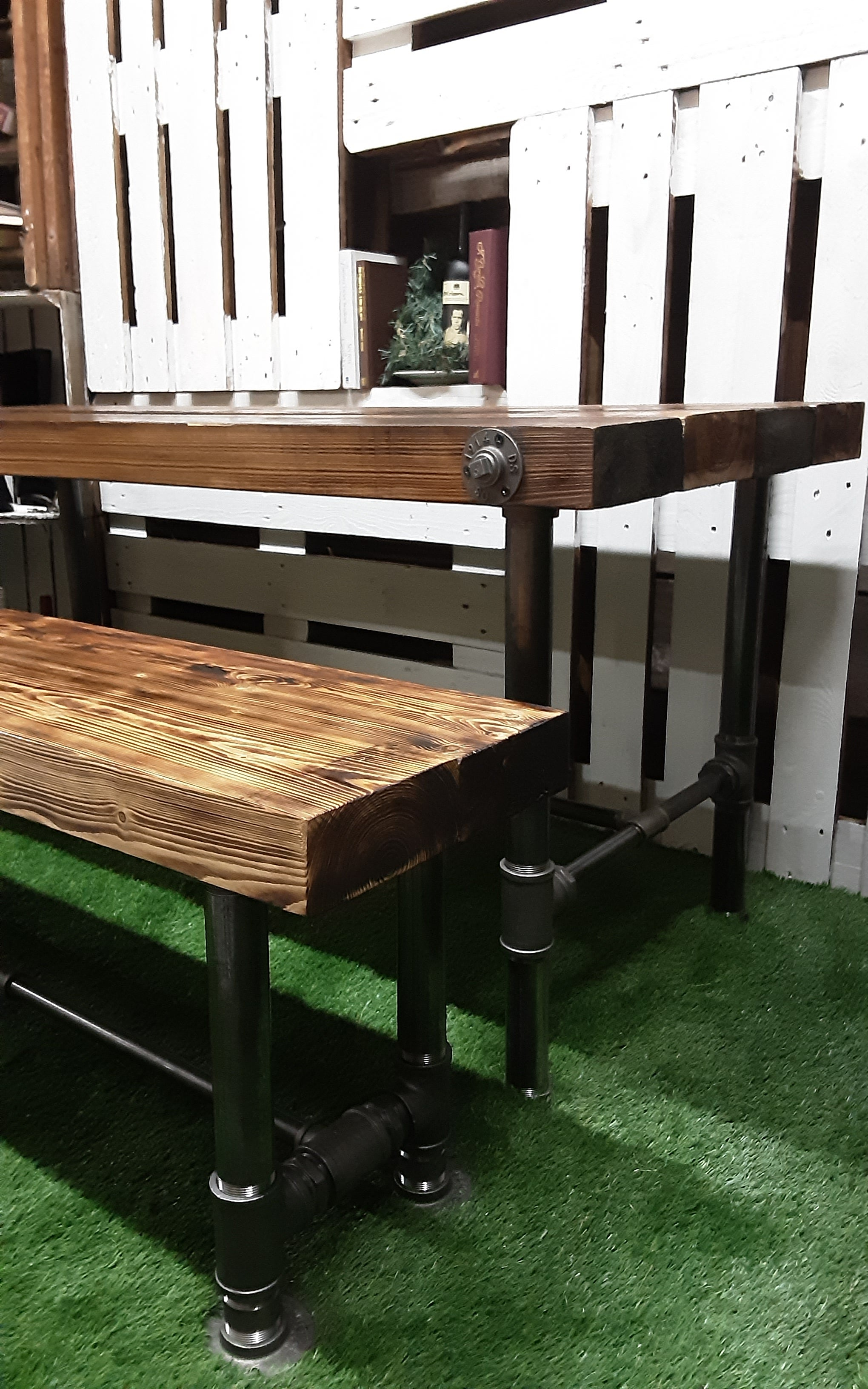 Heavy duty industrial dining set