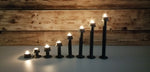 Industrial Style SteamPunk Tea Candle Holders, Set of 8