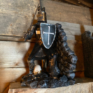 Crusader Knights Bookends