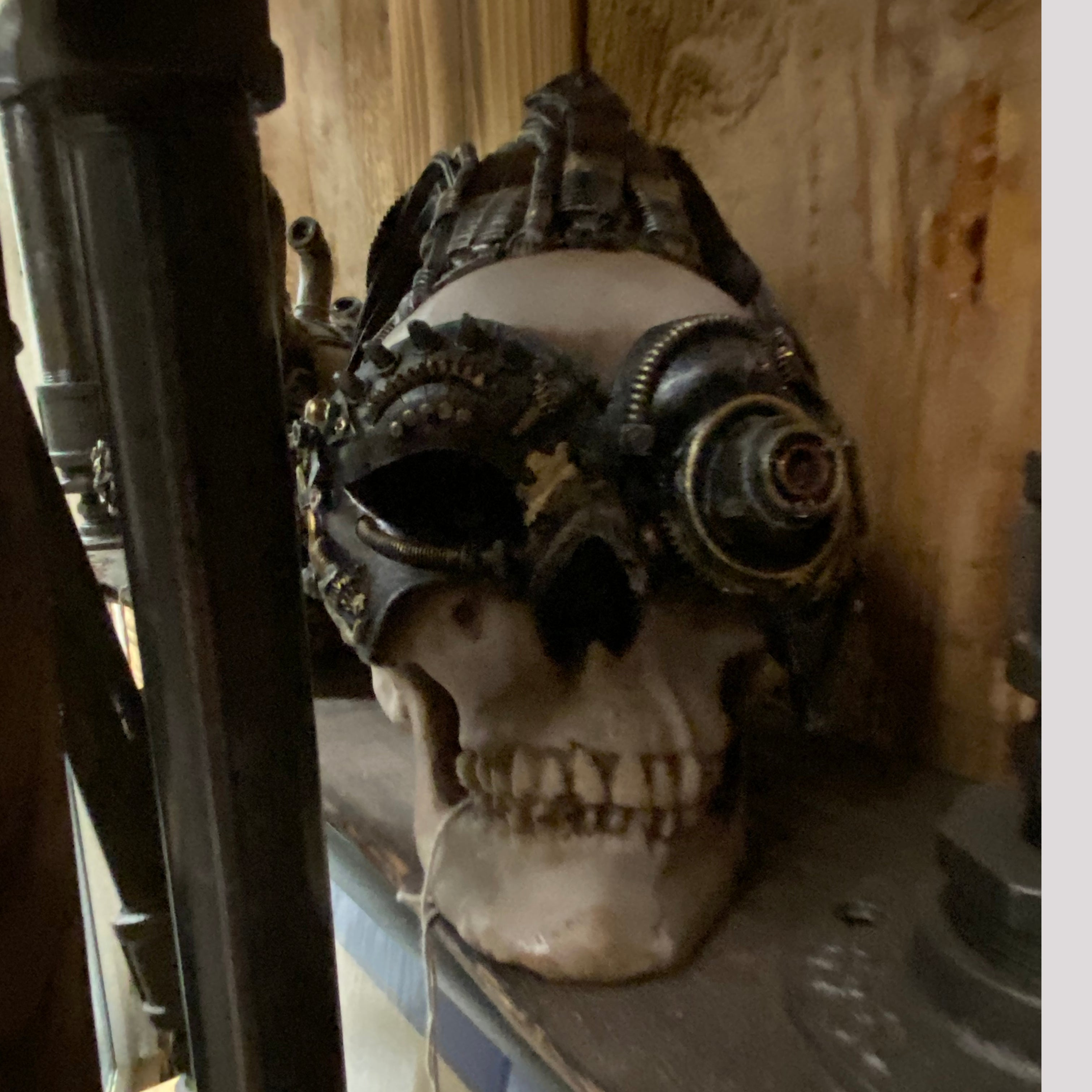Decorative Skull Ornament - Large