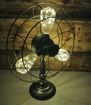 Industrial Fan Style Lamp