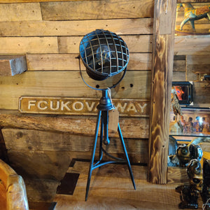 Industrial Style Tripod Lamp