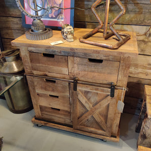 Industrial Style Drawers and Cabinet
