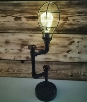 Pipe and Valve Lamp