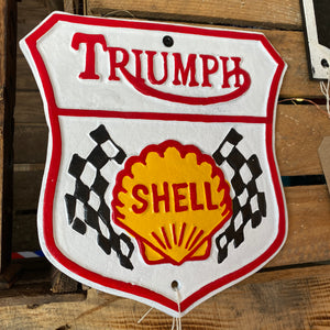 Decorative Wall Mounted 'Triumph' Sign