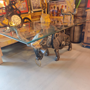 Fighting Bull Dining Table