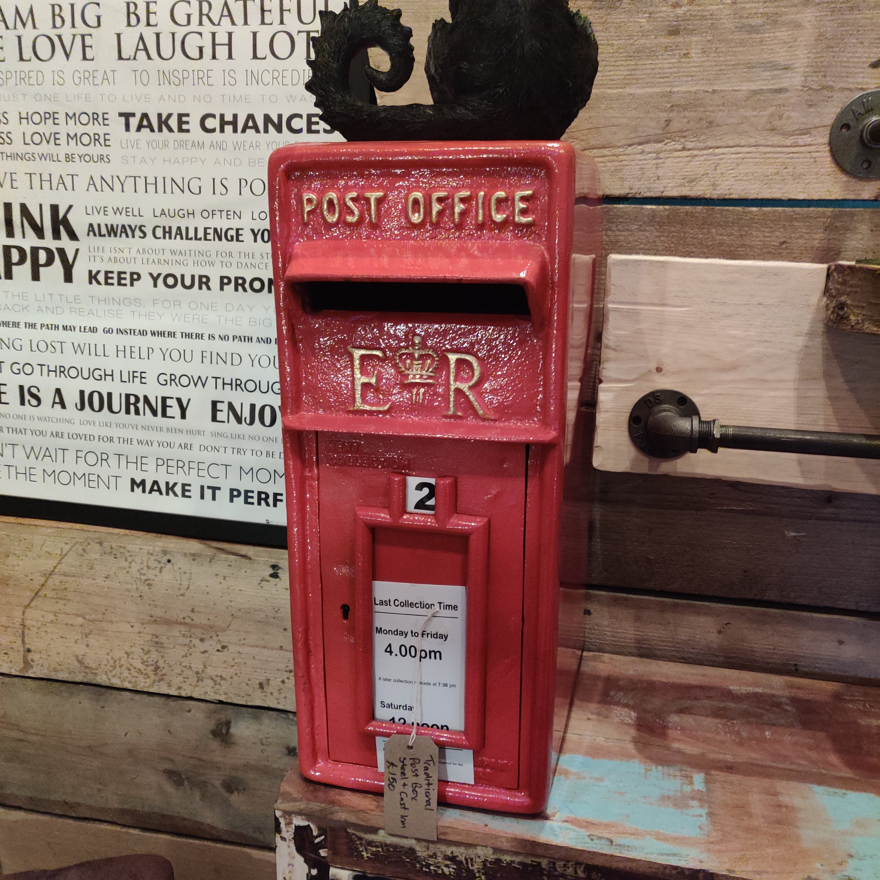 Vintage Red Postbox