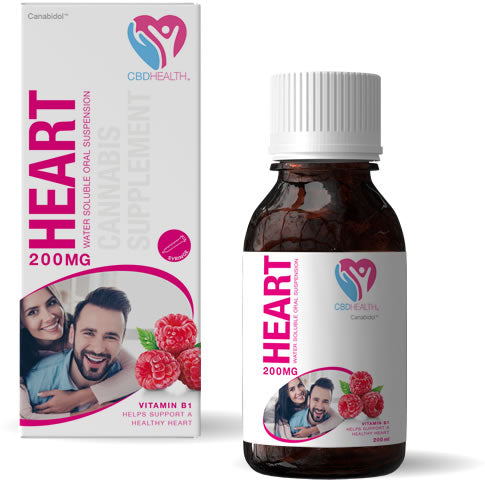 Canabidol™ Health Heart Support - ORAL SUSPENSION 200MG
