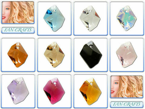 Swarovski Crystal Pendant 6680 Cosmic *All Sizes* *Many Colours*