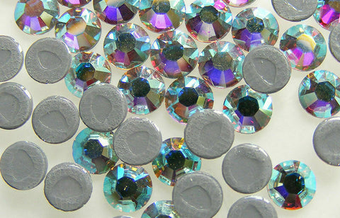 Swarovski Hotfix Rhinestone 2028 & 2058 Flat Back *All Sizes* *Many Colours*