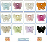 Swarovski Crystal Pendant 6754 Butterfly 18mm *Many Colours*