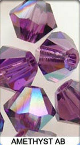 Genuine SWAROVSKI 5328 Bicone Crystal Beads Many Sizes & Colours with Effects