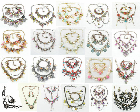 Julie Prs Handmade Jewellery New Sets Earrings/Necklace/Bracelet