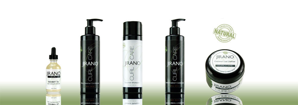 Jirano curl care and hair growth products