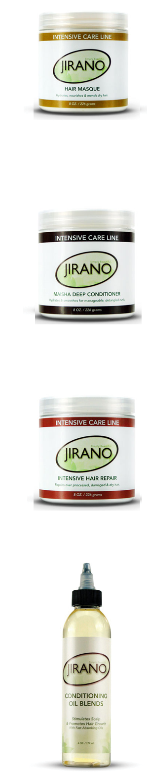 Intensive hair treatments Jirano Curl Care